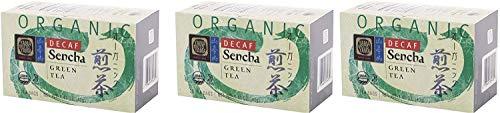 Yamamotoyama Organic Green Tea Sencha (Organic Decaf Green Tea Sencha 3-Pack)