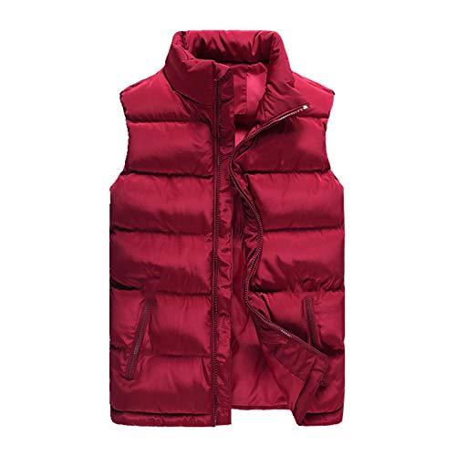 El otoño y el invierno de los hombres abajo del chaleco de algodón de los hombres grandes calientes sin mangas del algodón del chaleco para