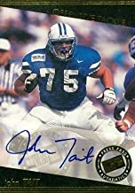 Autograph Warehouse 63149 John Tait Autographed Football Card Brigham Young 1999 Press Pass