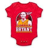 The Guns Of Brixton Kobe Bryant Iconic Basketballer Tribute Babystrampler, Rot, 3-6 Monate