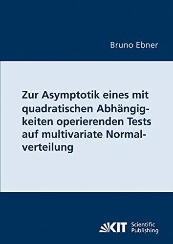 Zur Asymptotik eines mit quadratischen Abhängigkeiten operierenden Tests auf multivariate Normalverteilung