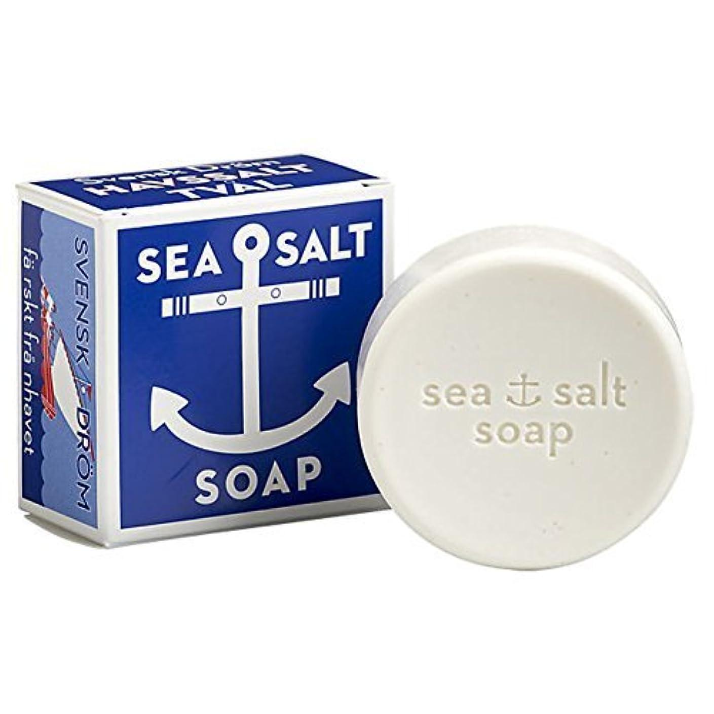 劇作家エキス逃すSwedish Dream Sea Salt Invigorating Bath Soap - One 4.3 oz Bar by Swedish Dream [並行輸入品]