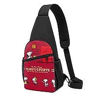 ボディバッグ Snoopy スヌーピー (2) 人気 斜めがけバッグ チェストバッグ 日常 カジュアル 胸バッグ おしゃれ 軽量撥水 大容量 携帯便利 収納 登山 旅行 スポーツ 多機能 ボディバッグ 男女兼用