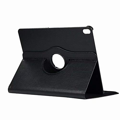 Case for The iPad Air 3(2019 Release),360 Degree Rotating PU Leather Book Cover Design Style Multi-Angle Stand Protective Folio Cover Smart Lightweight Case for 10.5 Inch,Black