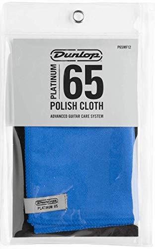 Dunlop P65MF12 Platinum 65 Suede Microfiber Cloth