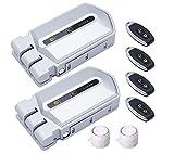 Cerradura Invisible con alarma Golden Shield Alarm - Controla Dos cerraduras electrónicas Invisibles con alarma con un...
