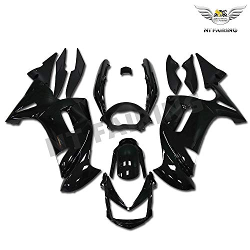 NT FAIRING Glossy Black Fairing Fit for KAWASAKI NINJA 2006 2007 2008 650R New ABS Plastics Bodywork Body Kit Bodyframe Body Work 06 07 08