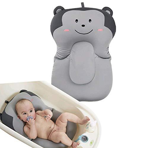 Moonvvin bebé bañista infantil de baño del cojín, flotante del amortiguador suave del bebé recién nacido y almohada de baño Tumbona Cojín de hidromasaje