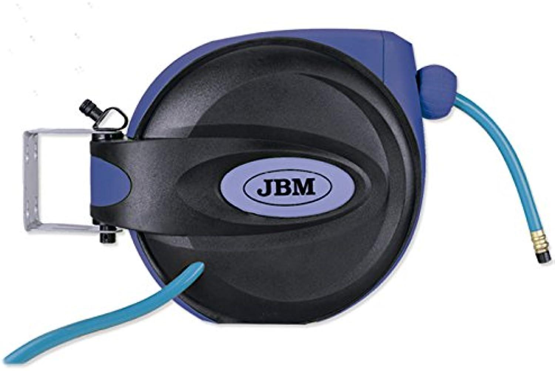 'JBM 52755 Kabeltrommel von Air Kutsche 12 m Racor 3 8 blau B01MTK8YHO | Modisch