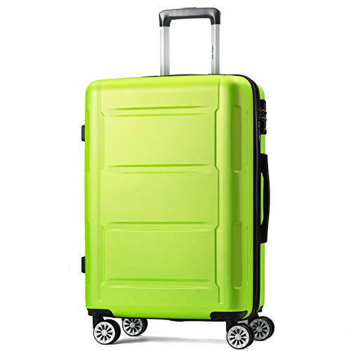 Zebery Suitcase, Trolley Carry On Hand Hard Shell Travel Bag Lightweight Luggage