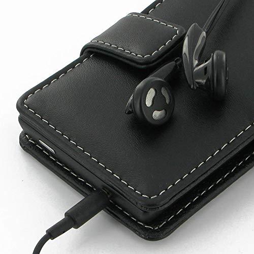 PDair Handarbeit Leder Hülle - Leather Book Case for Huawei Ascend D2 - 2