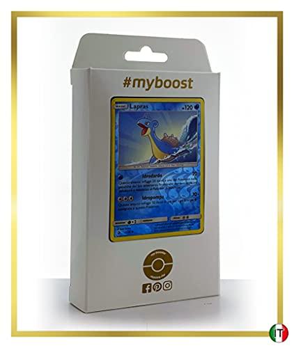 Lapras 21/70 Holo Reverse - #myboost X Sole E Luna 7.5 Trionfo dei Draghi - Box di 10 Carte Pokémon Italiane