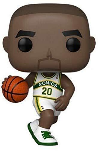 Funko- Pop NBA: Legends-Gary Payton (Sonics Home) Figura Coleccionable, Multicolor (47912)