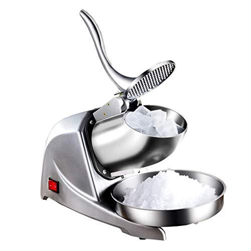 WXXSL Elettrico del Ghiaccio Rasoio Macchina Frantoi Ice Neve Cono Maker Inox Lame rasata per la casa Commerciali ristoranti Parti Snack Stand