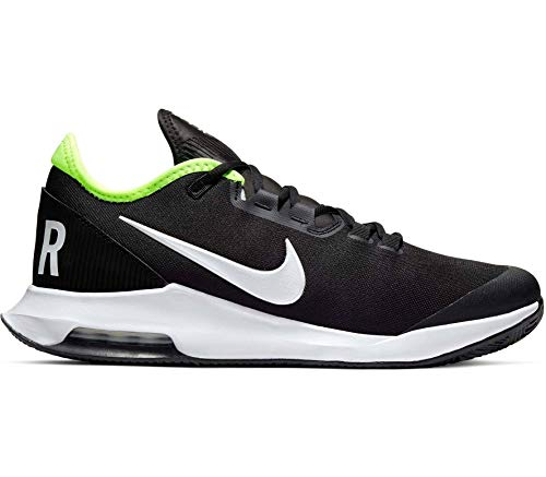 Nike Herren Nikecourt Air Max Wildcard Tennisschuhe, Black White Volt, 41 EU