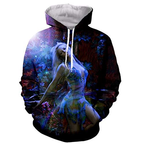 Divertida nueva moda manga larga cremallera con estampado 3D / sudaderas con capucha/sudaderas/chaqueta/hombres/mujeres child-120