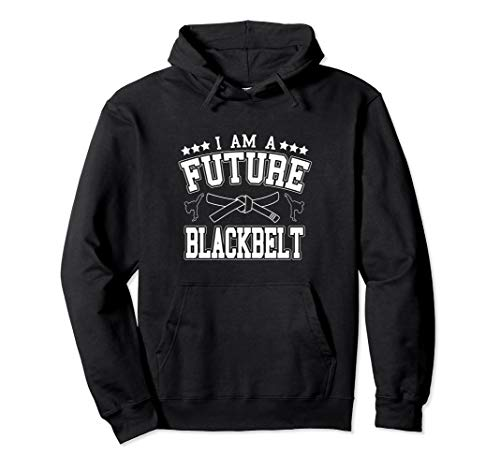 I Am A Future Blackbelt Self Defense Instructor Pullover Hoodie
