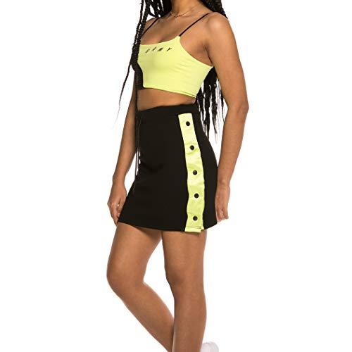 GRIMEY Falda Chica Steamy Blacktop SS19 Lime