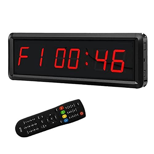 LED Digital Countdown Wall Clock Fitness Timer...