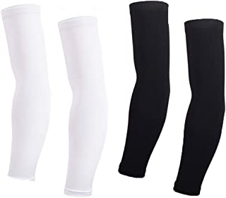 Arm Sleeves For Women Men Cycling Armwarmers Summer UV Sun Protection