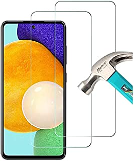 """AFGLOOY 2 Pack, Compatible with Samsung Galaxy A52/ A52 5G (6.5"""") Screen Protector, Tempered Glass for Galaxy A52 4G & 5G,..."""