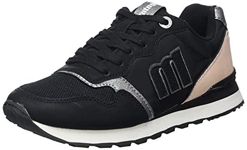 Mustang JOGGO, Zapatillas Deportivas Mujer, LH 1388 Negro, 40 EU