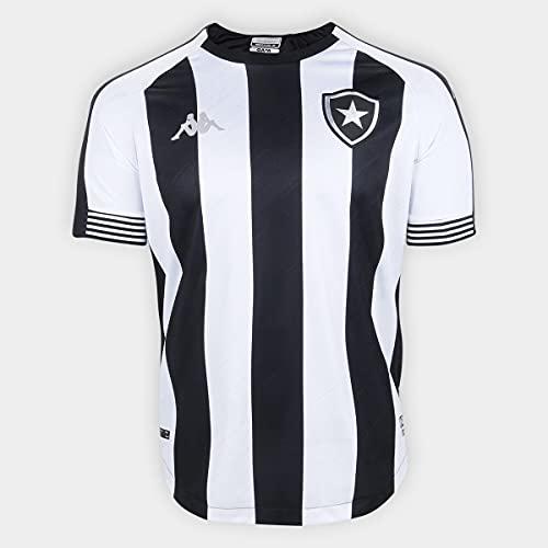 Camisa Botafogo Kombat Home I Player 20/21 Listrada Kappa - Masculina