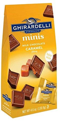 Ghirardelli Minis Milk Chocolate & Caramel Squares - 4.6oz