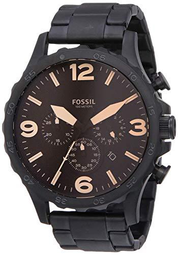 Fossil Herren Chronograph Quarz Uhr mit Edelstahl Armband JR1356