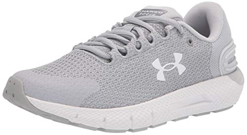 Under Armour Women's Charged Rogue 2.5, Mod Gray (100)/White, 10 M US
