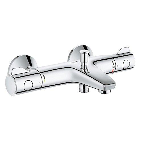 Grohe Grohtherm 800 DN 15 - Grifo termostático para bañera (cromo)