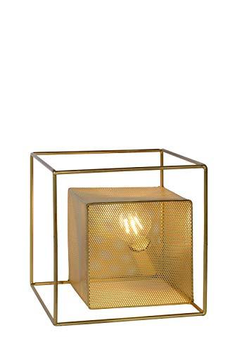 Lucide EXTRAVAGANZA MORRIS - Lámpara de mesa - 1 x E27 - Oro mate / latón