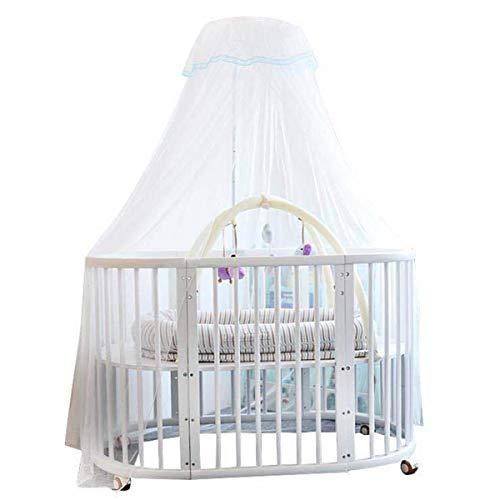Shuang Mosquitera de Cama de bebé, Tipo de Clip de mosquitera de bebé Infantil con mosquitera Plegable de Domo de Palacio de Soporte