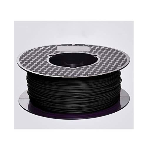 Fibra Di Carbonio 3D Filament 1.75mm/filamento Conduttivo/for Stampanti 3D E Penne 3D (disponibile In Due Dimensioni) 1 Kg Spool (Size : PLA1.75 carbon fiber 1kg)