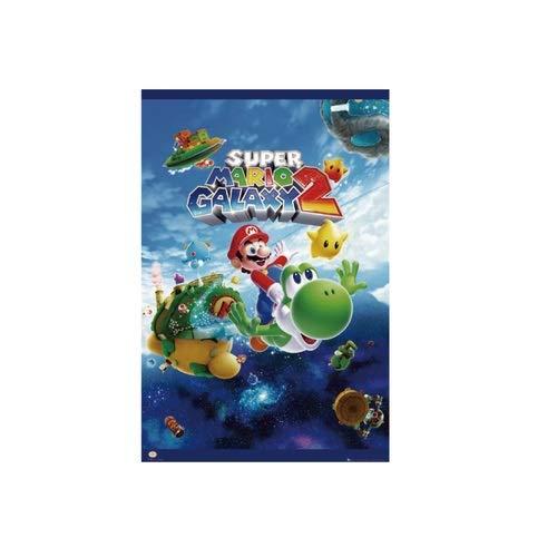 Nintendo super mario galaxy 2 ポスター