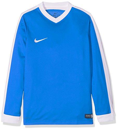 NIKE Striker IV Jersey LS Jeunesse, Blanc/bleu royal