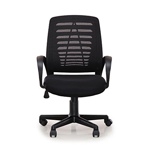 Nilkamal Elantra Mid Back Chair (Black)