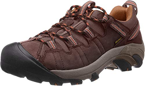 KEEN Men's Targhee II Hiking Shoe,  Cascade Brown/Brown Sugar - 12 D(M) US