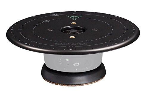 Syrp Produktdrehtisch/Product Turntable, Intelligenter Drehteller für geniale 360° Bilder, Kompatibel mit Smartphones/DSLR-Kameras, Zusätzliche Bewegungssteuerung erforderlich, volle App-Steuerung,Alu