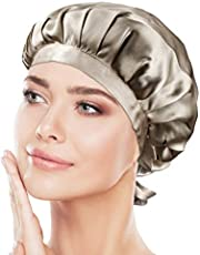 ナイトキャップ シルク シルクキャップ シルク100% 紐付き サイズ調整可能 ロングヘア ショートヘア 対応 ヘアキャップ就寝用