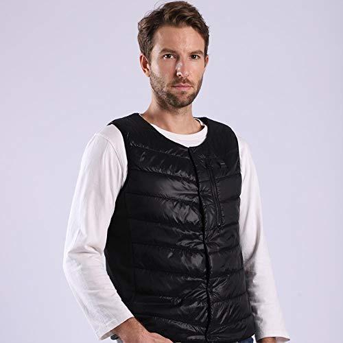 ZR1LZ Heated Vest Slim Fit,Sehr gut geeignet für Outdoor-Aktivitäten wie Winterlauf/Schneemobil/Motorrad/Alpin