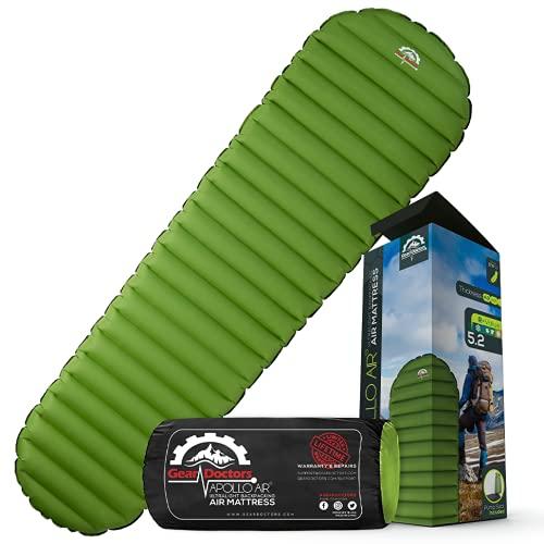 Ultralight 17oz Camping Sleeping pad- Gear Doctors...