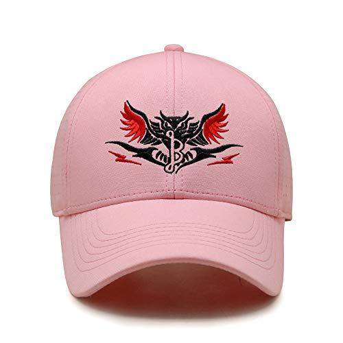 sdssup Outdoor-Sportmütze Sonnencreme Visier Mesh atmungsaktive Kappe weiblich rosa M (56-58cm)