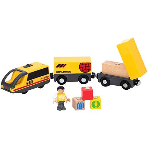 Tren eléctrico | juguete de carretera para niños | Locomotora alimentada por pilas | Coche magnético de juguete eléctrico para niños