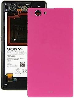 Förnyelse Reparation för skärmskydd Batteriladdning för Sony Xperia Z1 mini tillbehör (Color : Magenta)