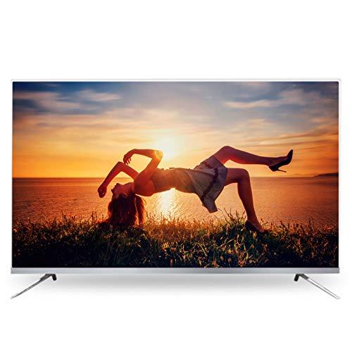 Delgado LED Televisión Smart TV, Ultra HD HDR Android Smart TV Altavoz Independiente HDMI USB Televisión Diseño Estrecho