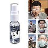 UFAVOR Spray antinebbia Antiappannante Portatile Antiappannante a Stato Solido Agente antiappannamento Detergente per Occhiali per Lenti in Vetro Occhiali da Nuoto Occhiali subacquei