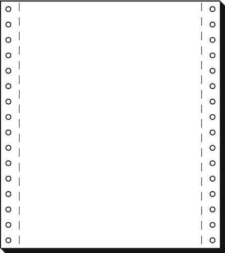SIGEL 08181 eindeloze papier 8 inch x 180 mm (A5 hoog), 70 g, 2000 vellen LP, 1-voudig
