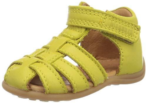 Bisgaard Unisex-Kinder Carly Geschlossene Sandalen, Gelb (Lemon 2101), 23 EU