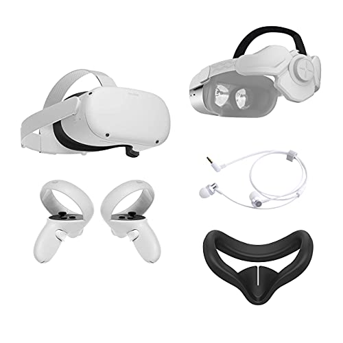 2021 Oculus Quest 2 All-In-One VR Headset 128GB, Touch Controllers,...
